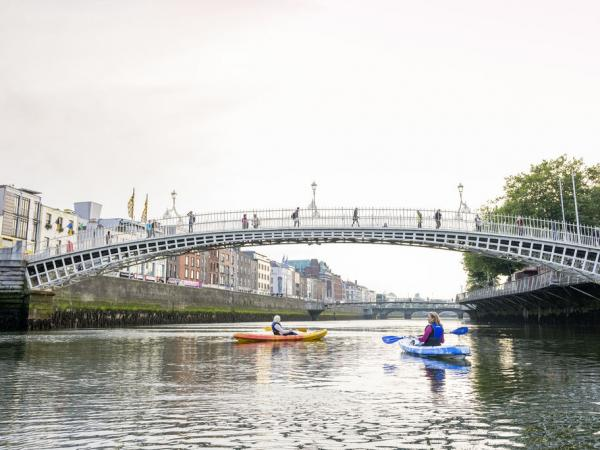 river Liffey Kayaking