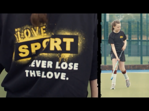 Love Sport Never Lose the Love