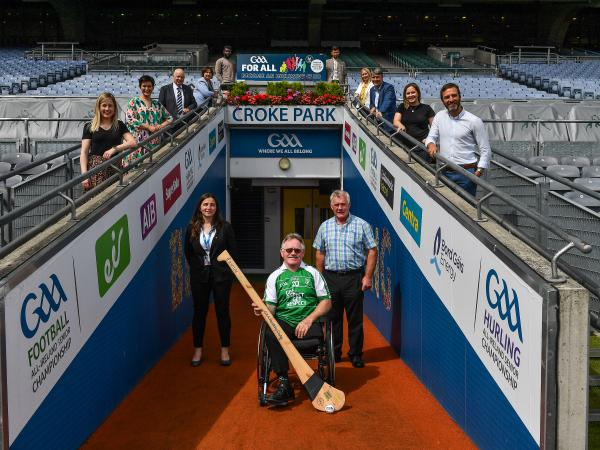 GAA Inclusive Club launch photograph