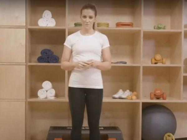 Coached home exercise video for Keep well