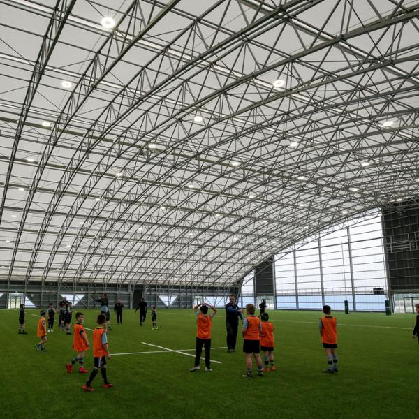 Inside image of phase 2 of the Sport Ireland National Indoor Arena