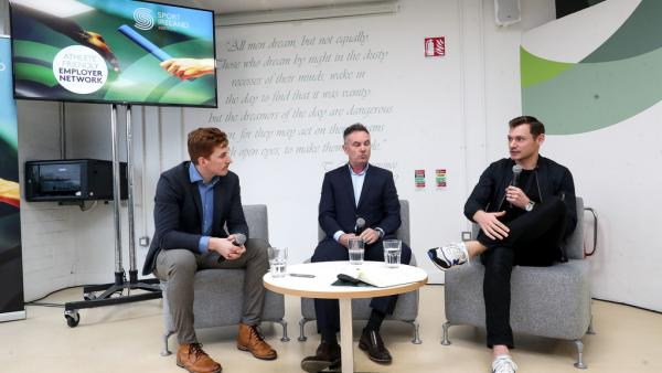 Panel discussion at the Sport Ireland Institute Athlete Friendly Employer Network
