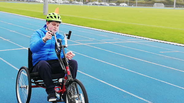 Donegal Hand Cycling Local Sports Partnership