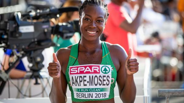 Sports Woman of the Month Gina Akpe-Moses  Athletics