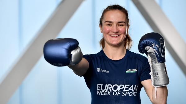 European Week of Sport Ambassador Kellie Harrington