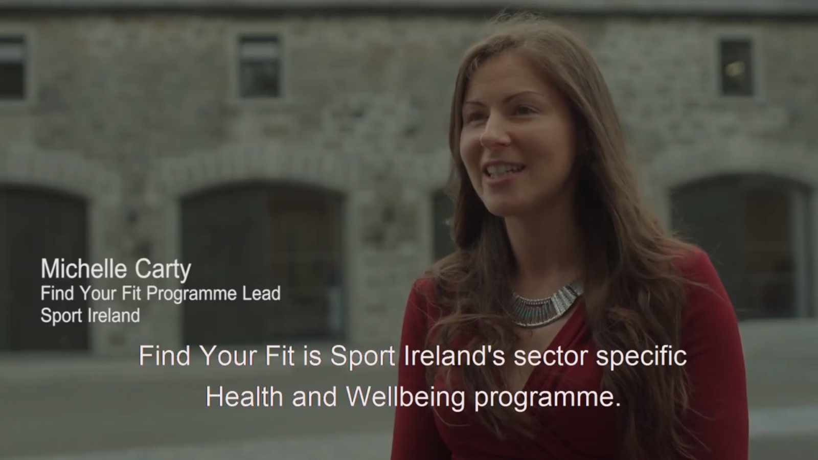 Michelle Carty presents the Find your Fit programme