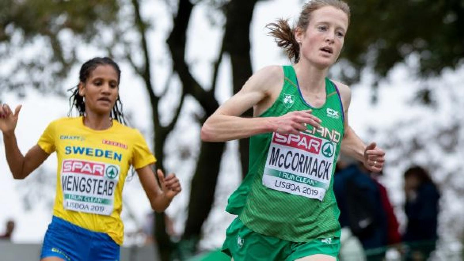 Fionnuala McCormack Sports Woman of the Month Athletics