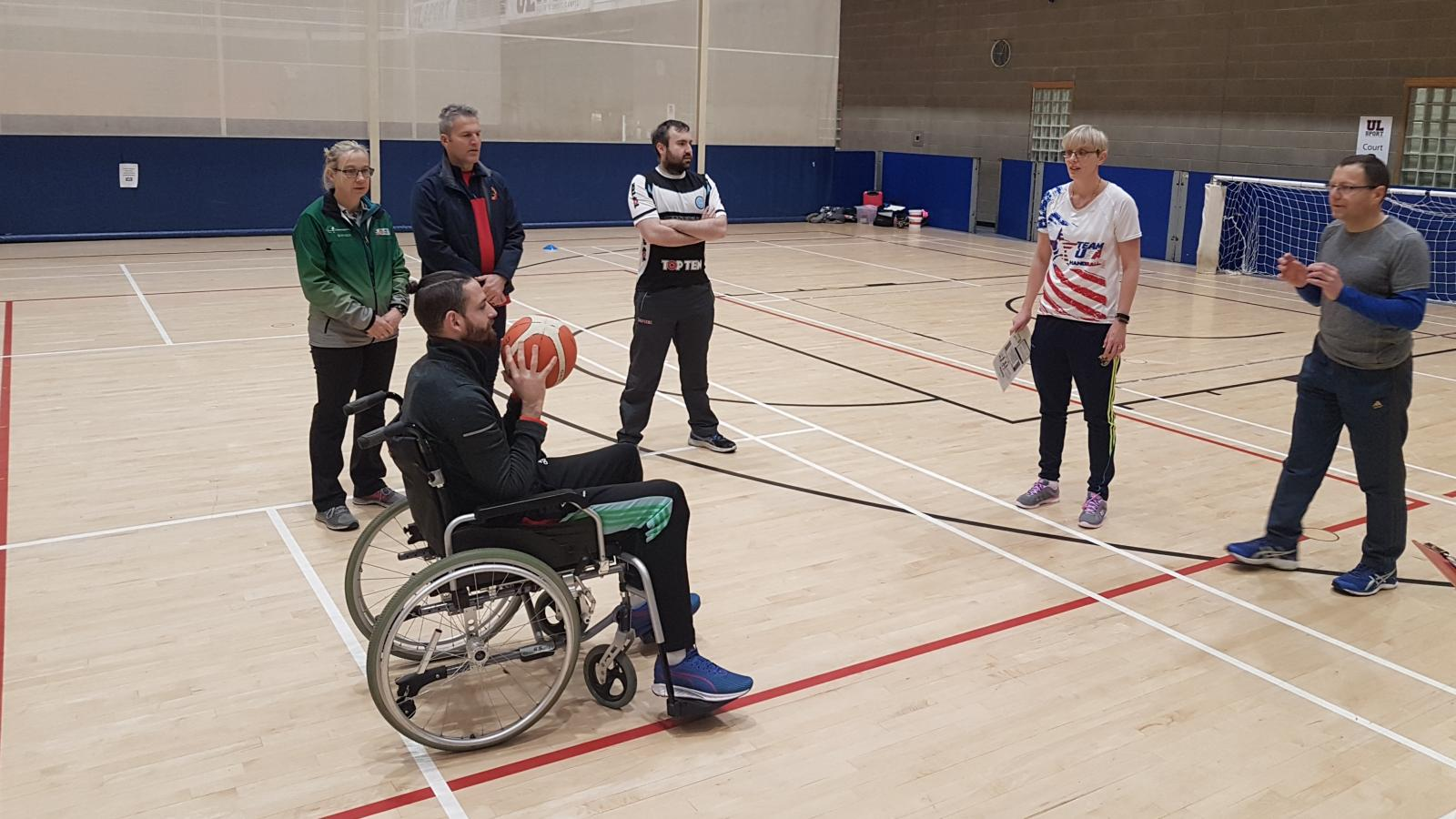 Inclusive Coach developer session in UL's Arena