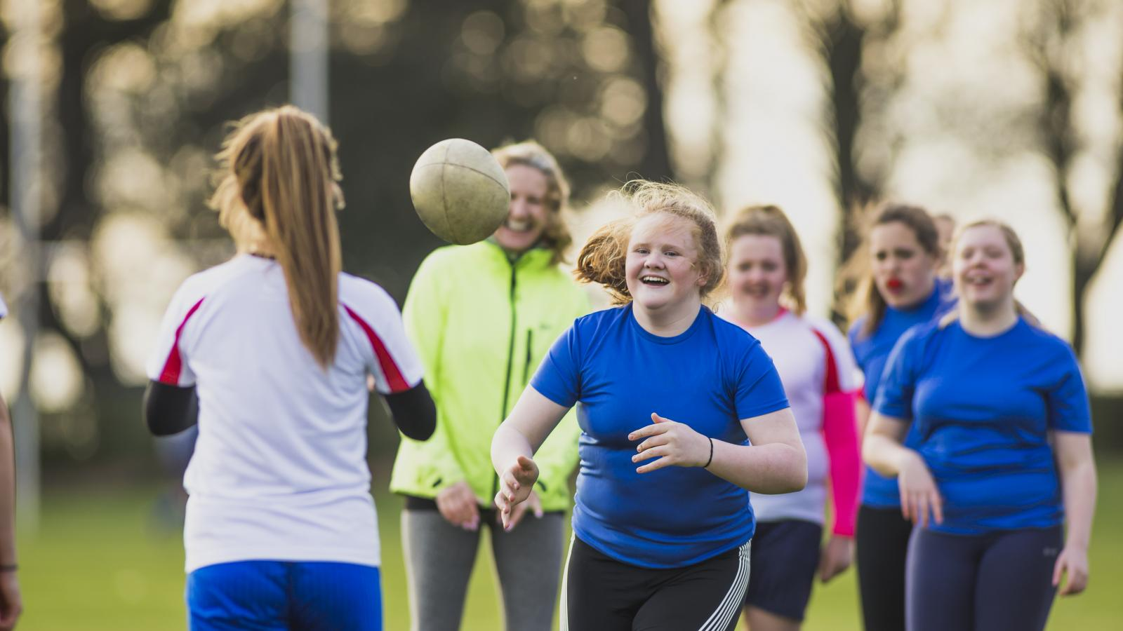 Adolescent Girls Get Active - Image